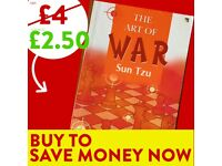 The Art of War - FREE DELIVERY - Success Book - Save £15 WHEN YOU BUY TODAY