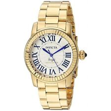 Invicta Womens Swiss Angel Gold-Plated Stainless Steel 38m Limited Edition Watch