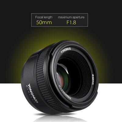50mm F1.8 Autofokus Lens Objektiv Full Frame FX DX fr Nikon DS LR Kamera