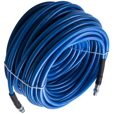 100ft High Pressure Blue Solution Hose 14 Carpet Cleaning Machine Cleane