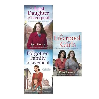 Mersey Book Series 3 books collection set New by Pam Howes The Forgotten Family