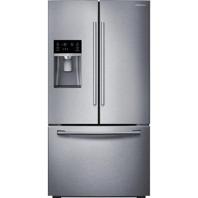 Samsung RF23HCEDBSR 22.5CF French Door Refrigerator Stainless Steel Silver