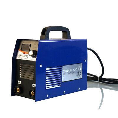 Arc-200 110v Portable Mini Igbt Arc Welding Machine Solder Inverter Welder Usa