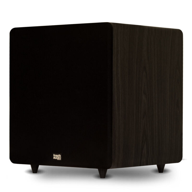 "Acoustic Audio PSW600-15 Home Theater Powered 15"" LFE Subwoofer Front Firing Sub"