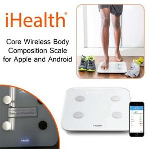 iHealth Core Wireless Body Composition Scale for Apple and Android - Measures Body Fat, BMI, Muscle Mass and More for...