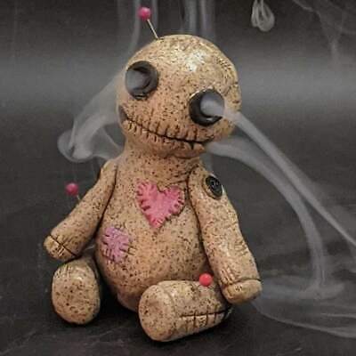 Cute Voodoo Doll Burner Incense Burner Desktop Resin-Ornament