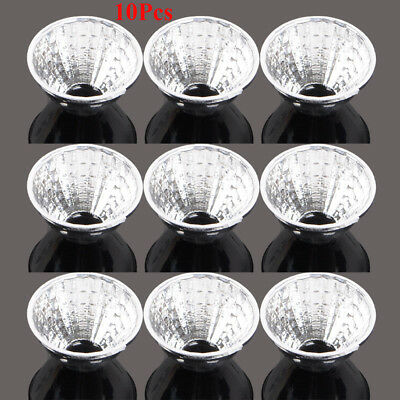 10Pcs 22mm 15Degree LED Reflector Cup For Cree XR-E/XM-L/XM-L2 Q5 T6 Flashlight