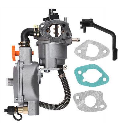170f Carburetor Dual Fuel Compatible W 208cc 210cc 212cc 6.5-7.5 Hp Generator