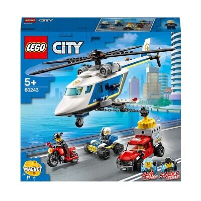 LEGO City Police 60243 Police Helicopter Chase Age 5+ 212pcs