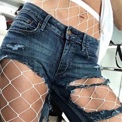 White Hoise Fashion One Size Net Pantyhose Stockings Fishnet Tights (White Fishnet Tights)