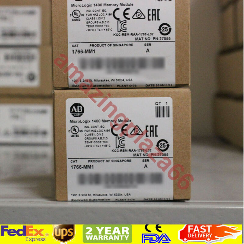 USA STOCK UPS Allen-Bradley MicroLogix 1400 Memory Module 1766-MM1