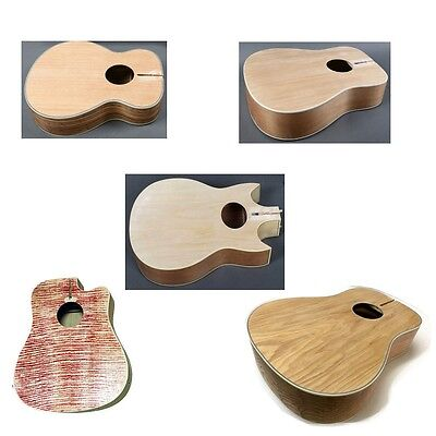 PICK FROM ZEBRA, BURLY MAPLE, NATURAL DIY ACOUSTIC GUITAR KITS