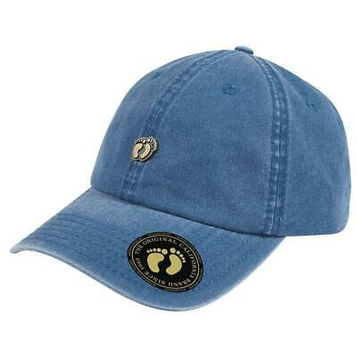 Hang Ten Washed Cotton Twill Cap - Sky Blue Blue Sky Cotton Cap