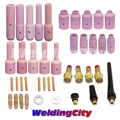 Tig Welding Collet-gas Lens Kit .040-18 Torch 171826 T27b Us Seller Fast