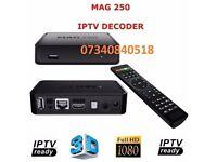 MAG 250 BOX IPTV NOT OPENBOX OR ZGEMMA MAG250 SKYBOX INFOMIR AMIKO