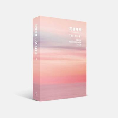 BTS 花樣年華 THE NOTES 1 English Ver Book+Tracking Number