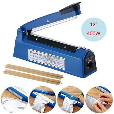 12 Hand Impulse Heat Sealing Plastic Sealer Foot Pedal Impulse Sealer Machine