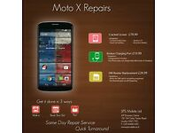 Same Day Moto E, G, G2,G3, X LCD Front Screen Digitiser Repair Replacement Service London UK