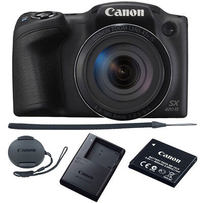 Canon Powershot Sx420 Is 20Mp Digital Camera 42X Optical Zoom Black Wi Fi   Nfc