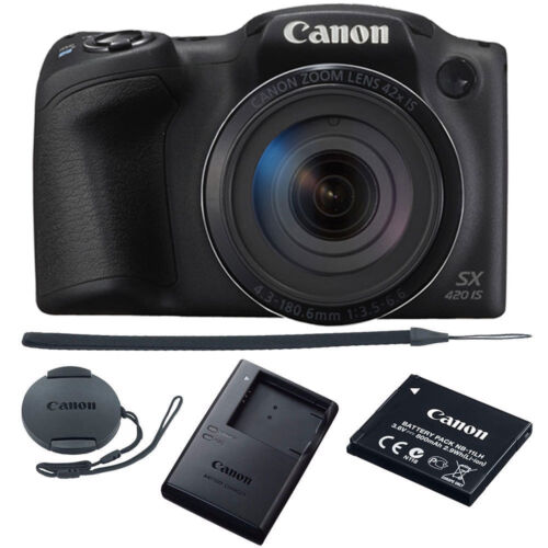 Canon PowerShot SX420 IS 20MP Digital Camera 42x Optical Zoo