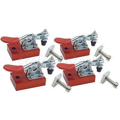 4pcs Cnc Router Fixture Quick Clamp Plate Fastening Holding Engraving Material