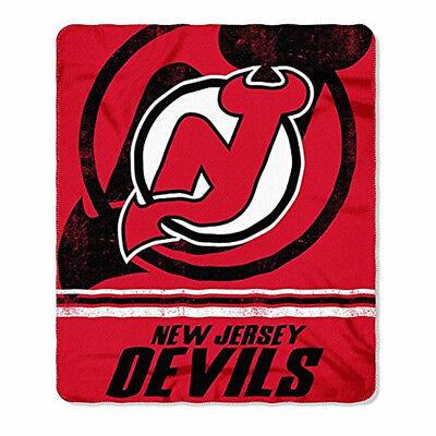 NHL New Jersey Devils Soft Fleece Throw Blanket 50