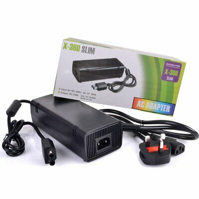 Used, Xbox 360 Slim AC Adapter Power Supply UK Mains Charger for sale  Shipping to Ireland