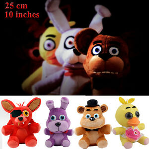 Fnaf five nights at freddy s plushie toys plush stuffed bear foxy
