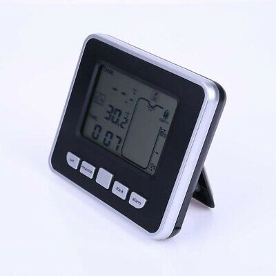 1 Pc Ultrasonic Tank Liquid Level Meter With Temperature Display Thermo Sensor