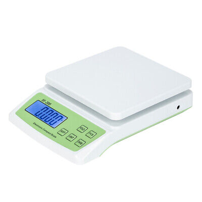 22lb X 0.1oz Postal Scale Digital Lcd Shipping Mail Packages Weigh 10kg0.5g