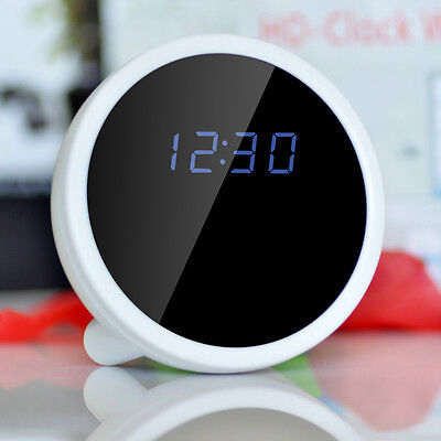 Wireless 1080P WiFi HD Spy Alarm Clock Video Nanny Cam DVR Hidden Digital Record