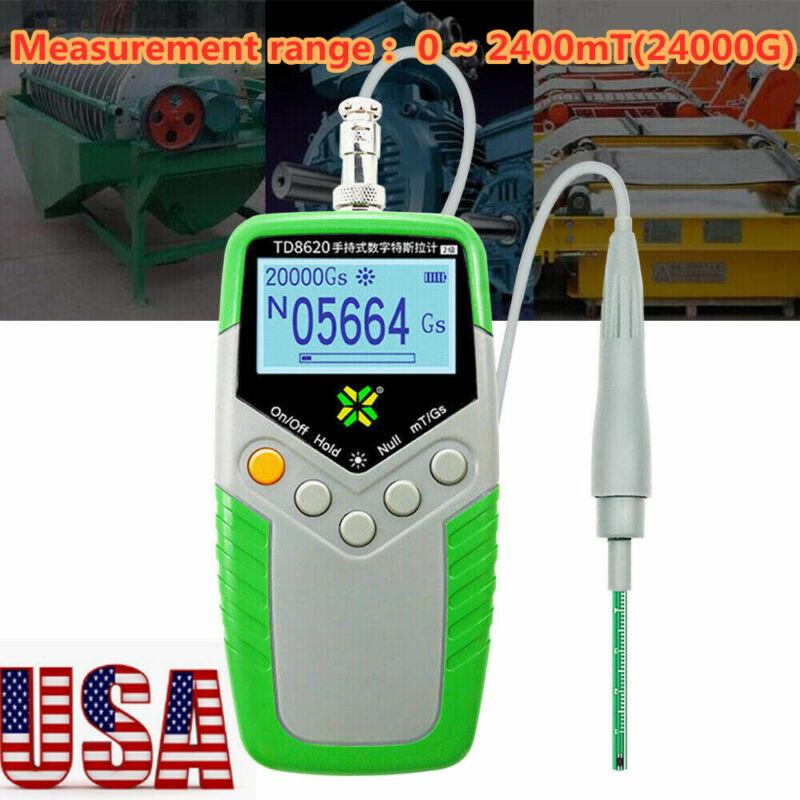 Magnetic Field Tester Digital Gauss Meter Surface Magnetic Flux Meter mT/Gs