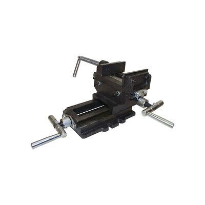 3 Cross Slide Vise Drill Press Heavy Duty Metal Milling 2 Way Clamp Vise Holder