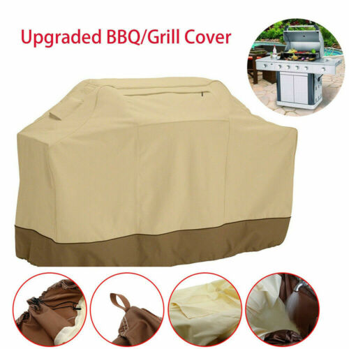 Waterproof Heavy Duty Waterproof BBQ Cover Gas Electric Barbecue Grill Smoker Barbecue & Grill Covers