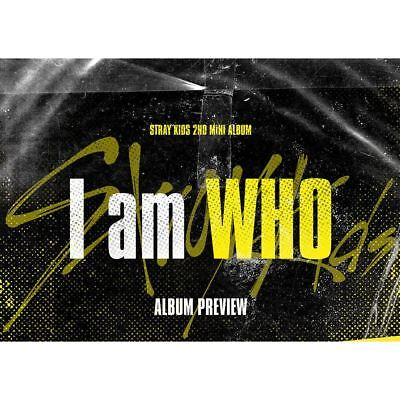 Stray Kids  I am WHO 2nd Mini Album WHO Ver CD+Photobook+PhotoCard+Etc