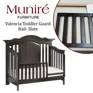 NEW Munire Valencia Toddler Guard Rail- Slate Condtion: New Missing Hardware