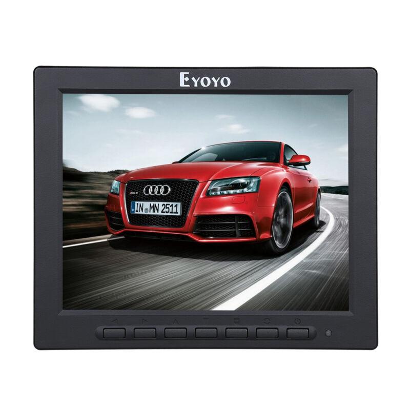 8 Inch HD LCD Monitor 1024*768 VGA BNC AV Video HDMI For CCTV Security Camera