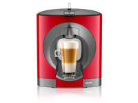 new/unused NESCAFE Dolce Gusto,Oblo, Manual Coffee Machine by Krups- Red-from a smoke&pet free house