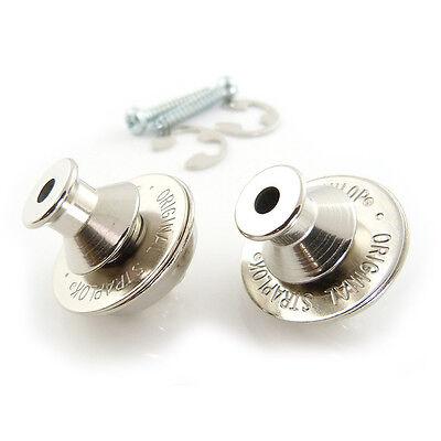 - Dunlop SLS1031N Dual Design Straplok Guitar Strap Lock Retainer System Nickel