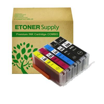 5 pack PGI280XXL ink Cartridge fits Canon Canon PIXMA TR7520 Printer BEST