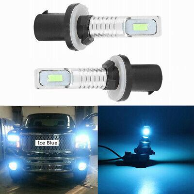2x 880 890 892 893 899 LED Driving DRL Fog Light Bulb Kit 80W 8000K Ice