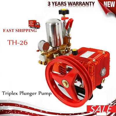 26-type Agricultural Chemical Triplex Plunger Pump Spray Pump Pressure Washer