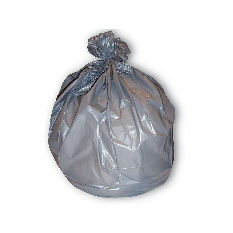 Brighton Trash Bags 30-33 Gallon 33x40 Low Density 1.5 Mil Silver 100 CT 814893