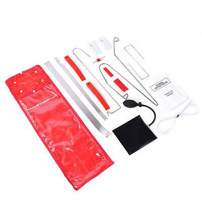 12Pc Car Door Open Unlock Tool Kit Key Lock Out Emergency Opening Air Pump Wedge
