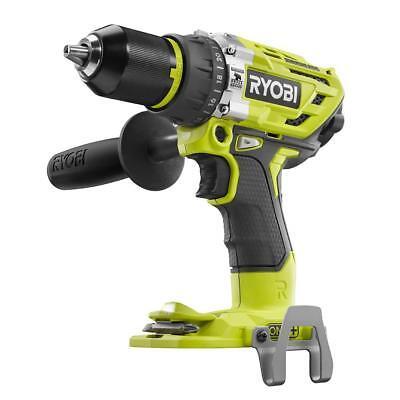 Ryobi P251 18-Volt 18V Li-Ion ONE+ Brushless Hammer Drill (Bare Tool Only) 18v Li Ion Drill