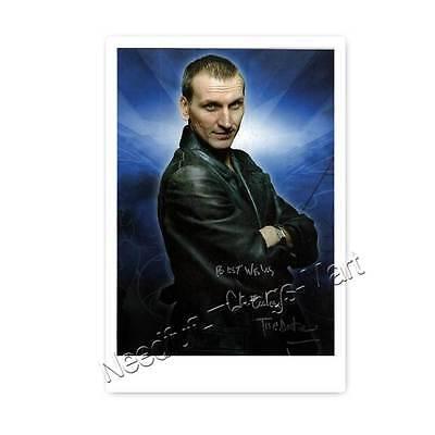 Christopher Eccleston alias Doctor Who (2005) -  Autogrammfotokarte [AK1]