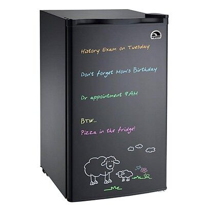 3.2 cu ft Igloo FR326 Eraser Scantling Mini Refrigerator in Black - Refurbished