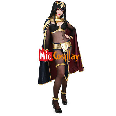 Tharja Cosplay Costume Fire Emblem Awakening Women Sexy Cape Cloak - Fire Costumes