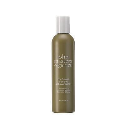 - John Masters Organics Zinc & Sage Shampoo with Conditioner 8fl.oz (US Seller)
