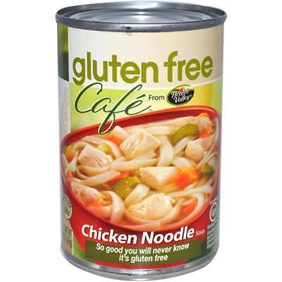 Gluten Free Canned Soup (Gluten Free Cafe-Gluten Free Chicken Noodles Soup (12-15 oz)
